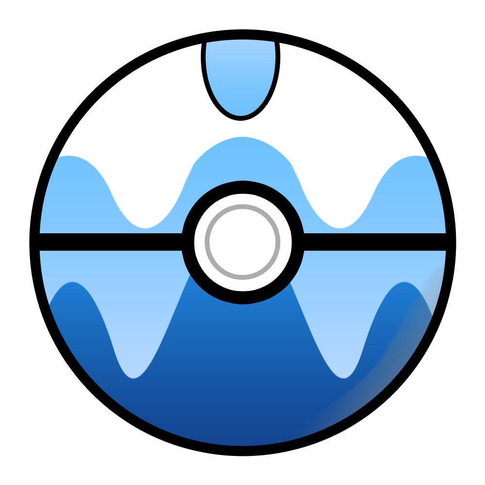 Dive ball png. Diveball by vongolaleader on