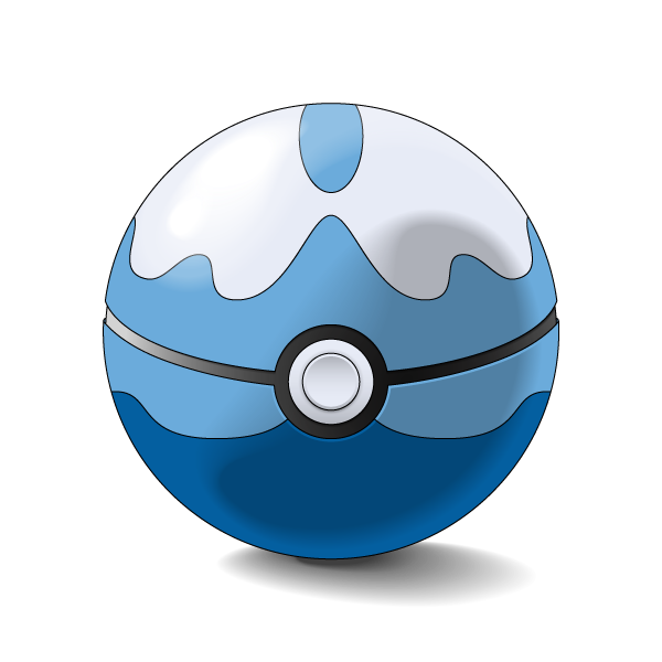 Dive ball png. By oykawoo on deviantart