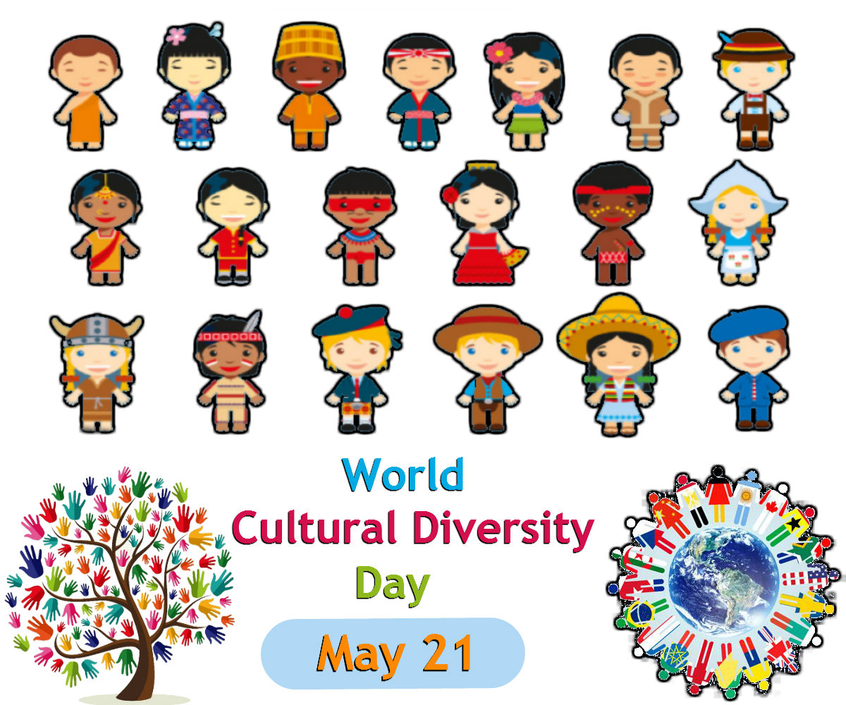 Diversity clipart cultural day. World may the columnyst