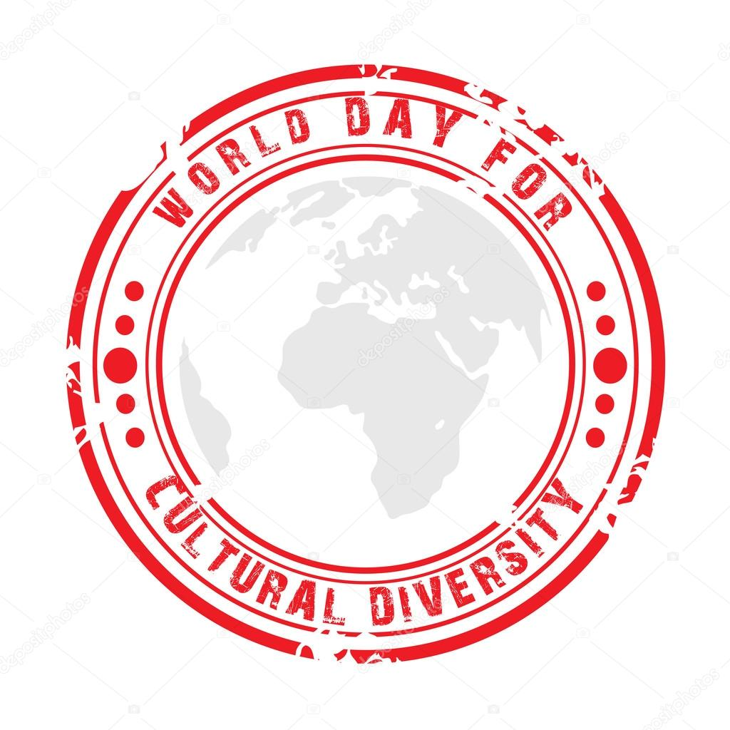 Diversity clipart cultural day. World for stock vector