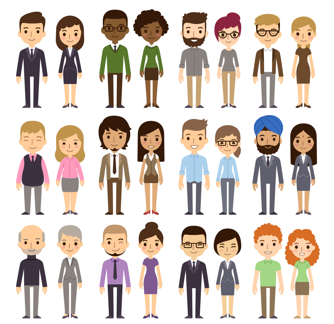 Diversity clipart diverse class. From to inclusion tips