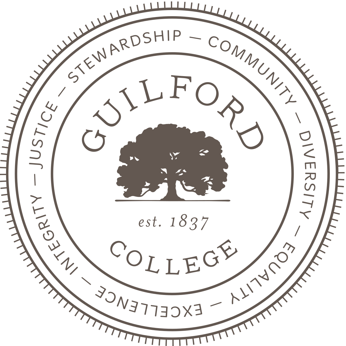 Diversity drawing tree logo. Guilford college wikipedia