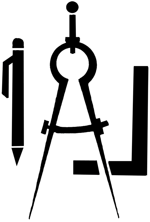 Divider clipart tool. Drafting compass
