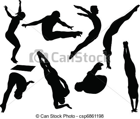 Diving clipart. Free illustrations and clip graphic transparent download