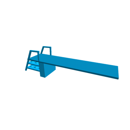 Diving clipart diving board. Roblox