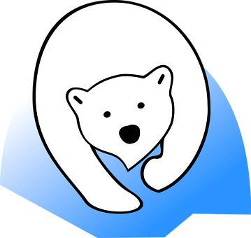 Free on dumielauxepices net. Diving clipart polar bear banner library download