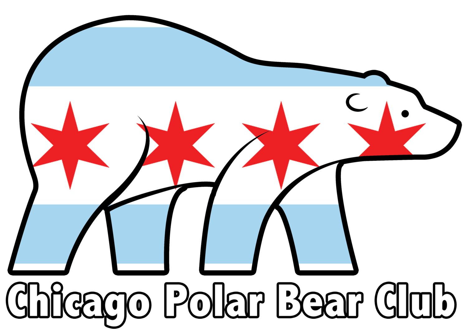 Chicago club formatw. Diving clipart polar bear picture freeuse library
