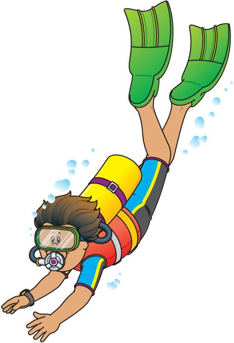 Diver oilpaint pinterest vbs. Diving clipart school clipart freeuse library