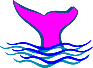 Diving clipart whale. Tail clip art extras