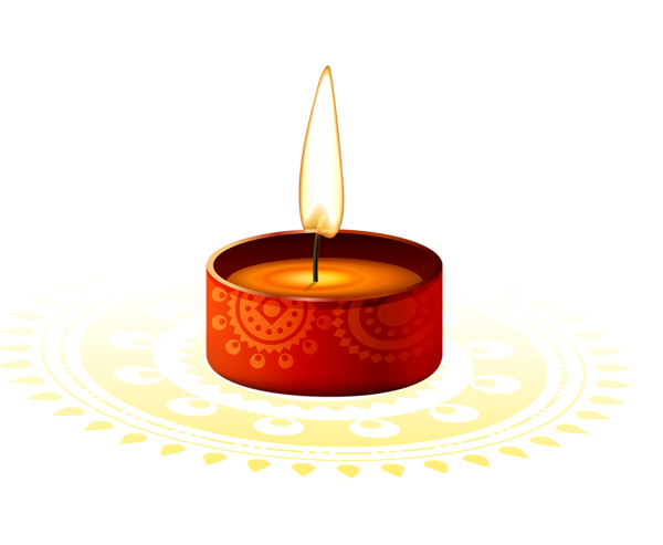 Diwali candles free png. Candle images download with