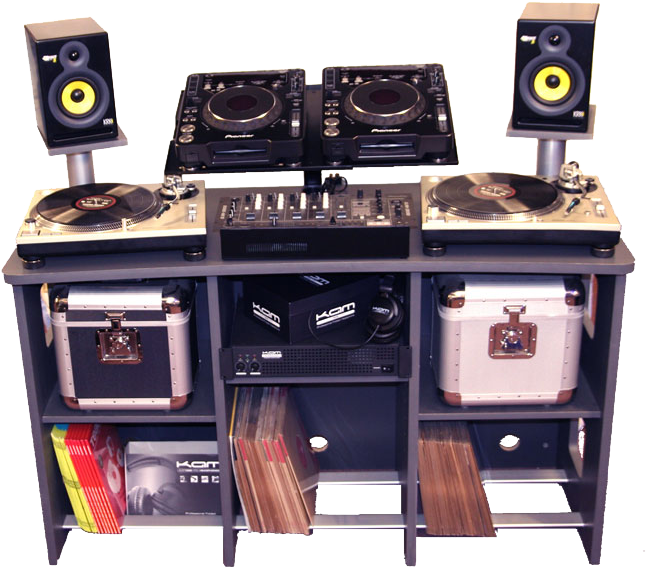 Dj booth png. Psd official psds share