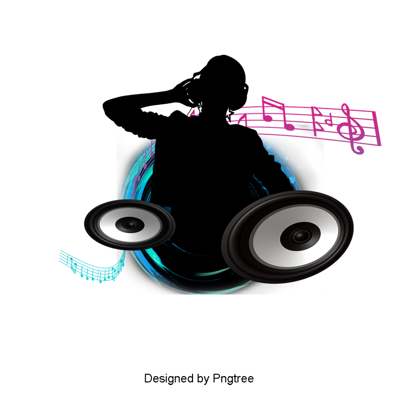 Music djing clipart image. Dj png graphic freeuse stock
