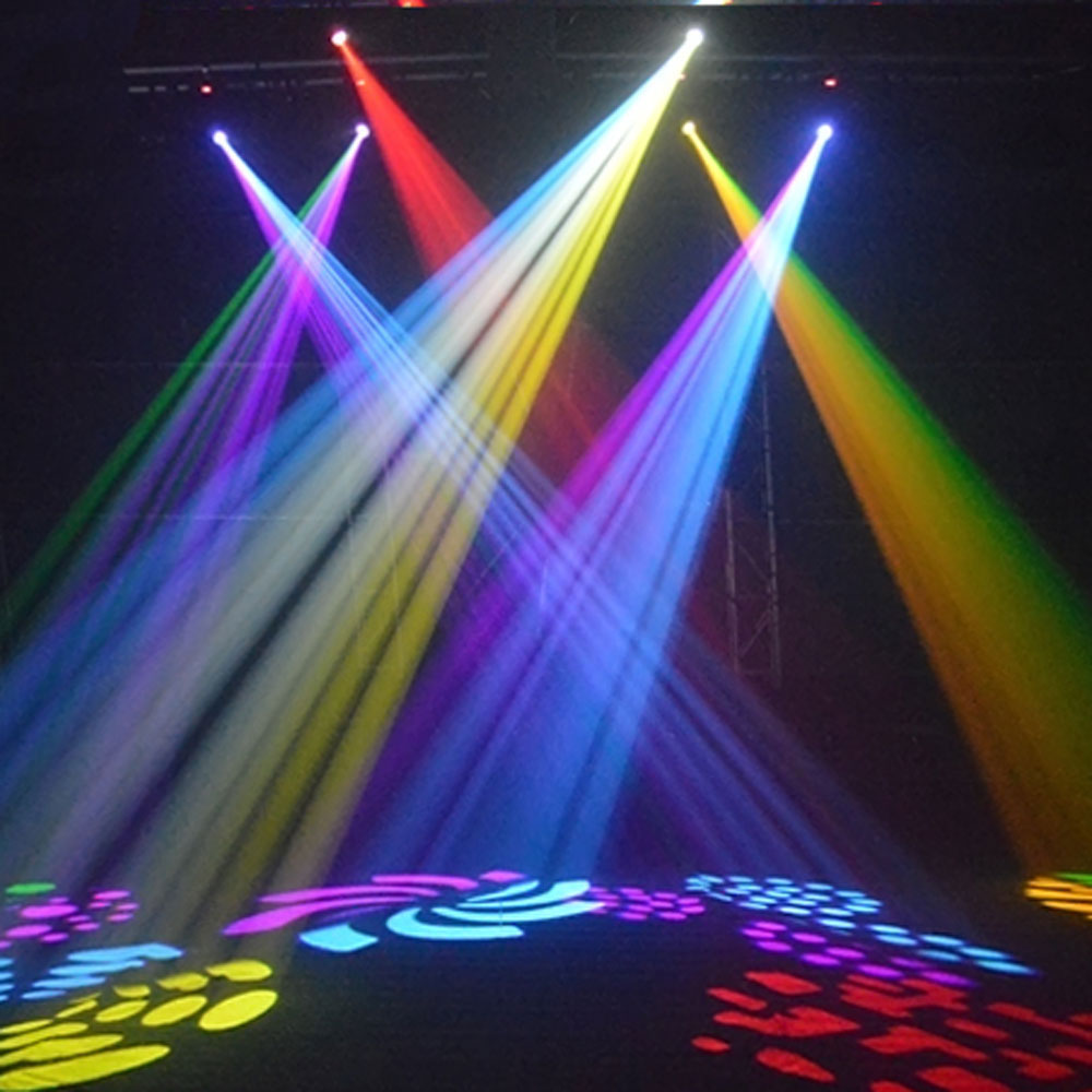 Dj clipart theatre lighting. Led stage in blue