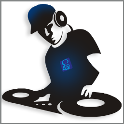 Dj logo png. Party corporate and private