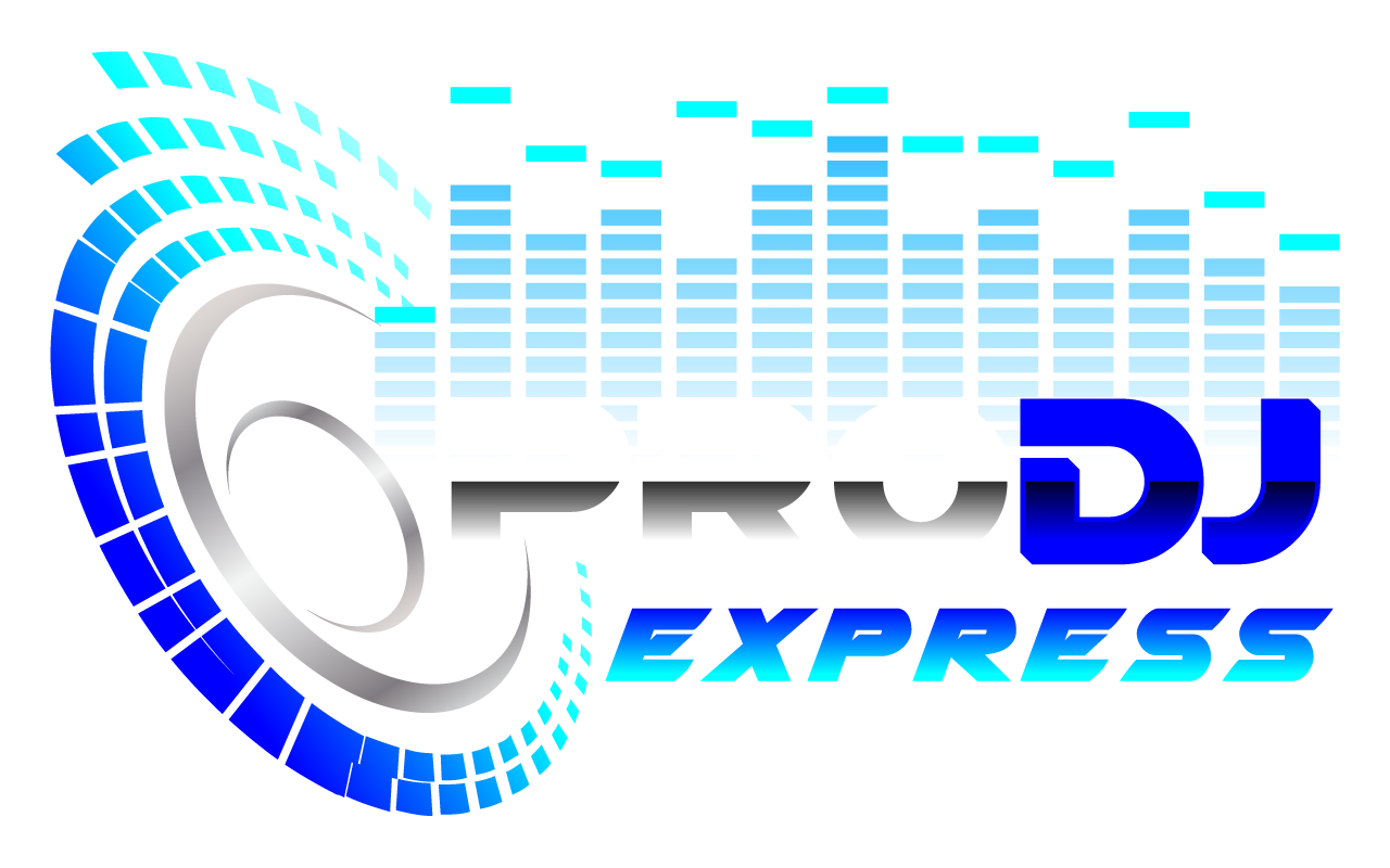 Dj music logo png. Pro express packages