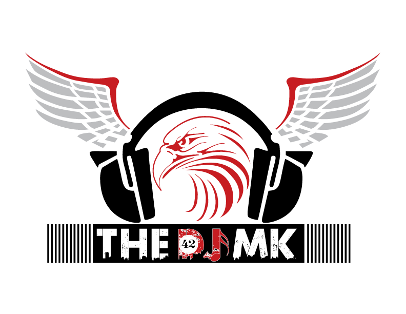 Dj music logo png. The mk is life
