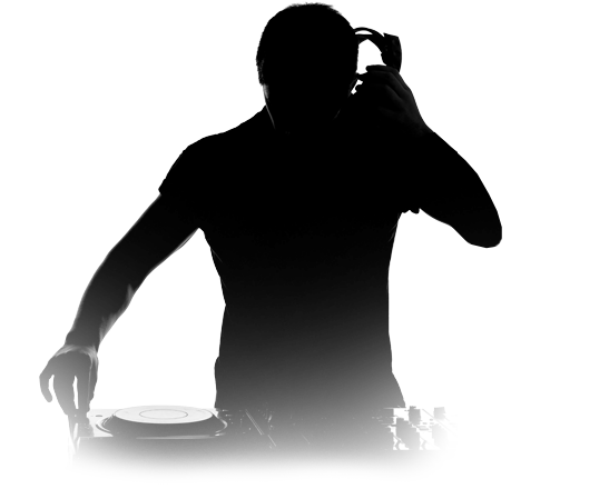 Dj silhouette png. Packages make it last