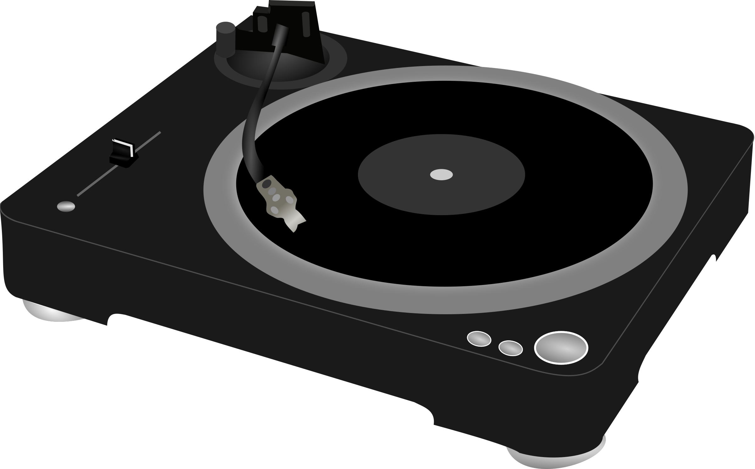 research vector turntable