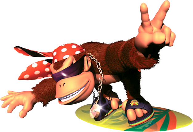 Dk country png. Funky kong in donkey