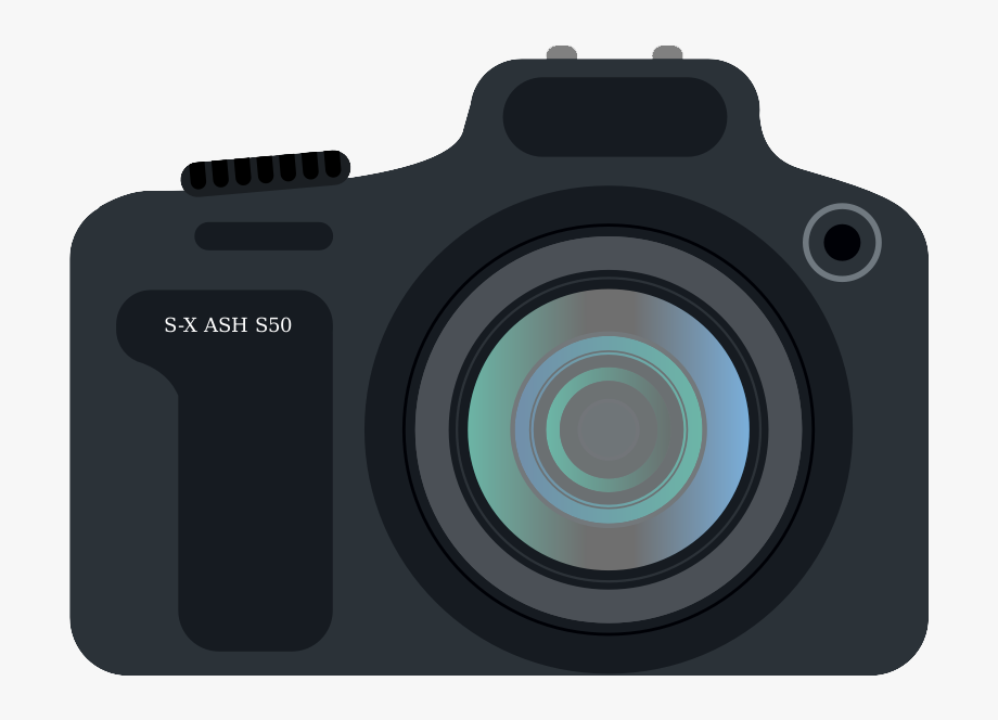 DLSR. Camera clip art dslr