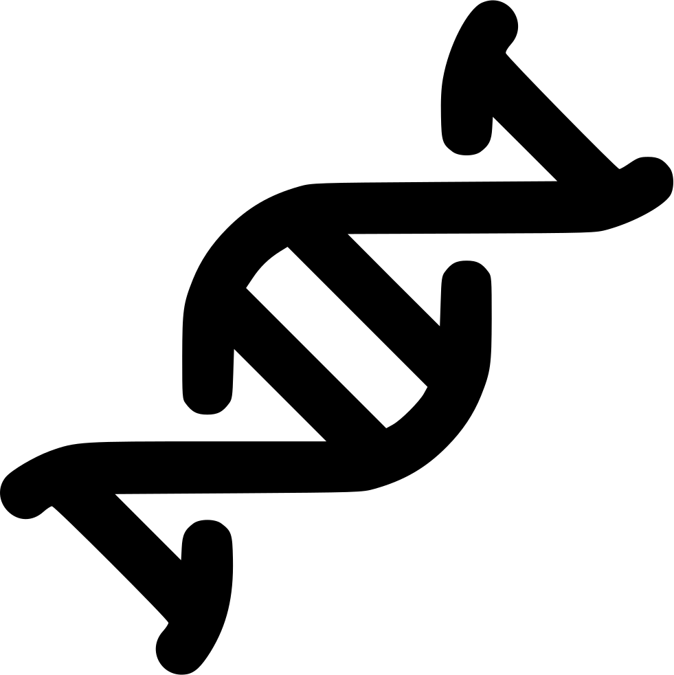 Dna svg small. Double helix png icon