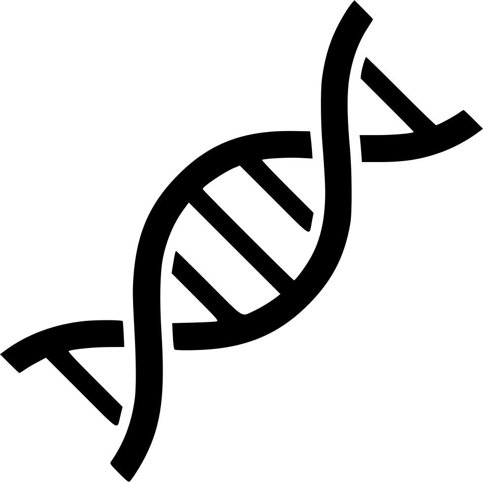 dna svg black and white