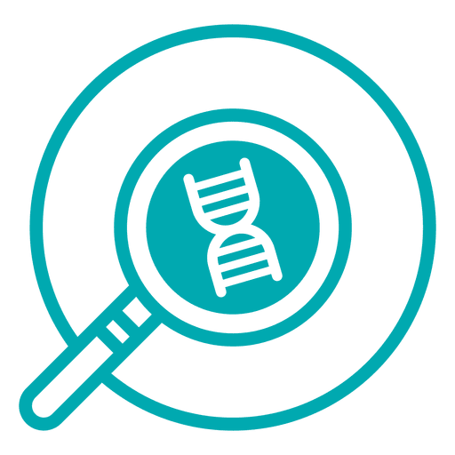 Research stroke icon transparent. Dna png png black and white stock