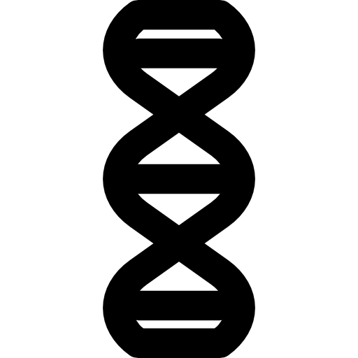 Dna svg black png. Flat icon page