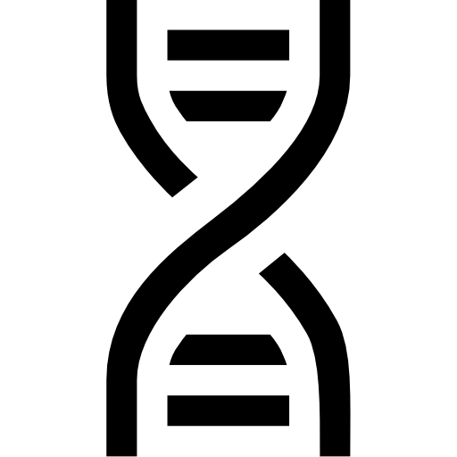 Dna svg flat. Icon page png