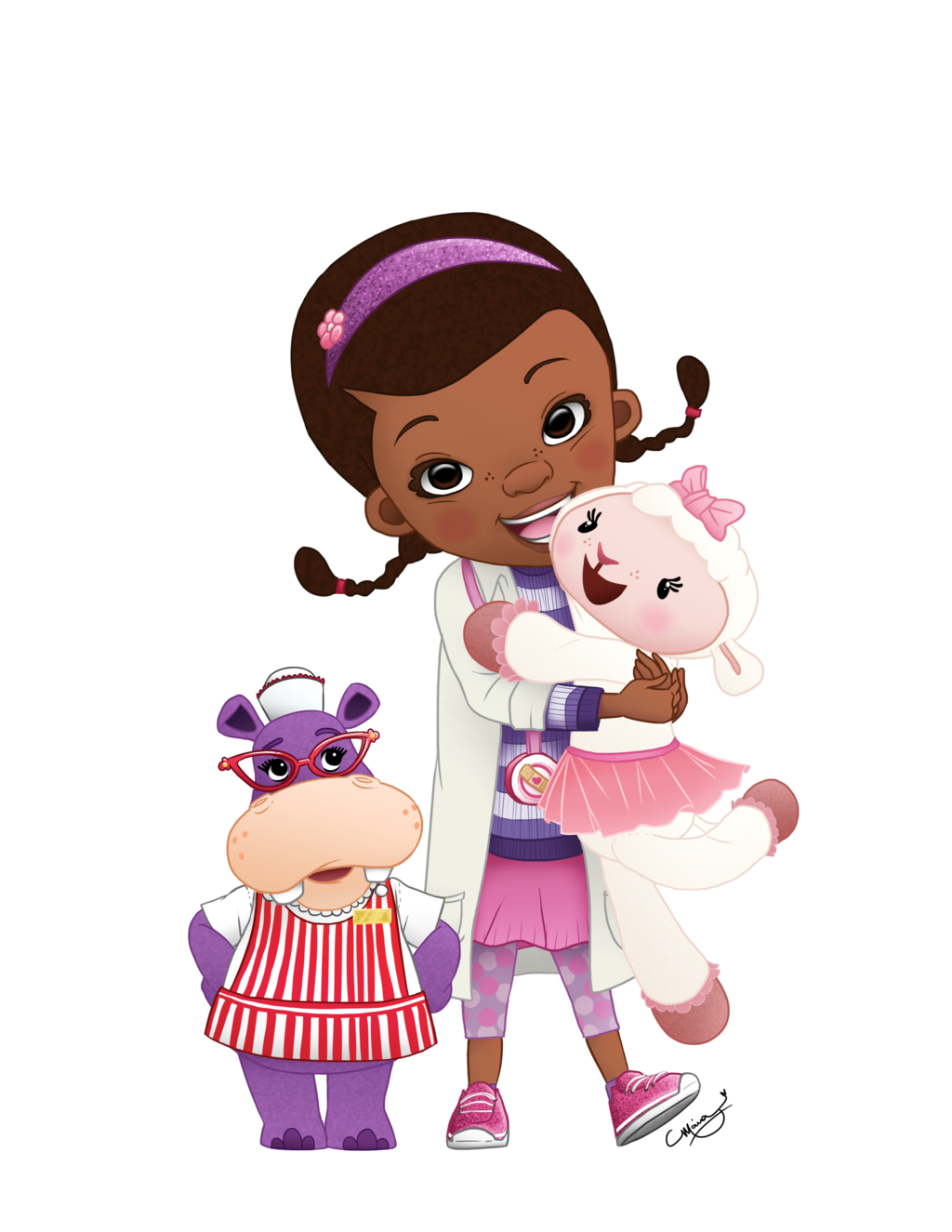 Free download on cognigen. Doc mcstuffins clipart heart bandaid vector black and white download