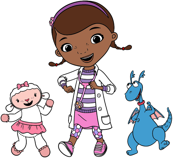 doc mcstuffins clipart little girl