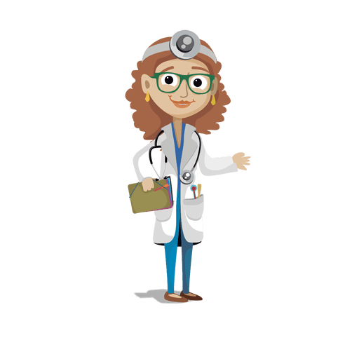 Doctor cartoon png. Profession svg transparent vector