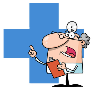 Doctor clipart cartoon. Image or medical researcher