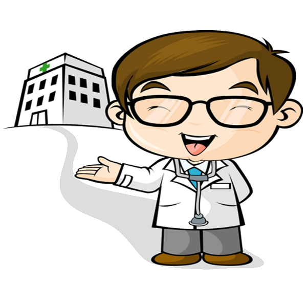 Doctor clipart cartoon. Funny
