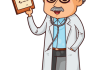 Doctor clipart vector. Free cliparts eps jpg