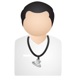 Male vector physician. Free medical doctor icon