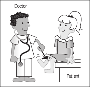 Doctor clipart vector. With patient clip art