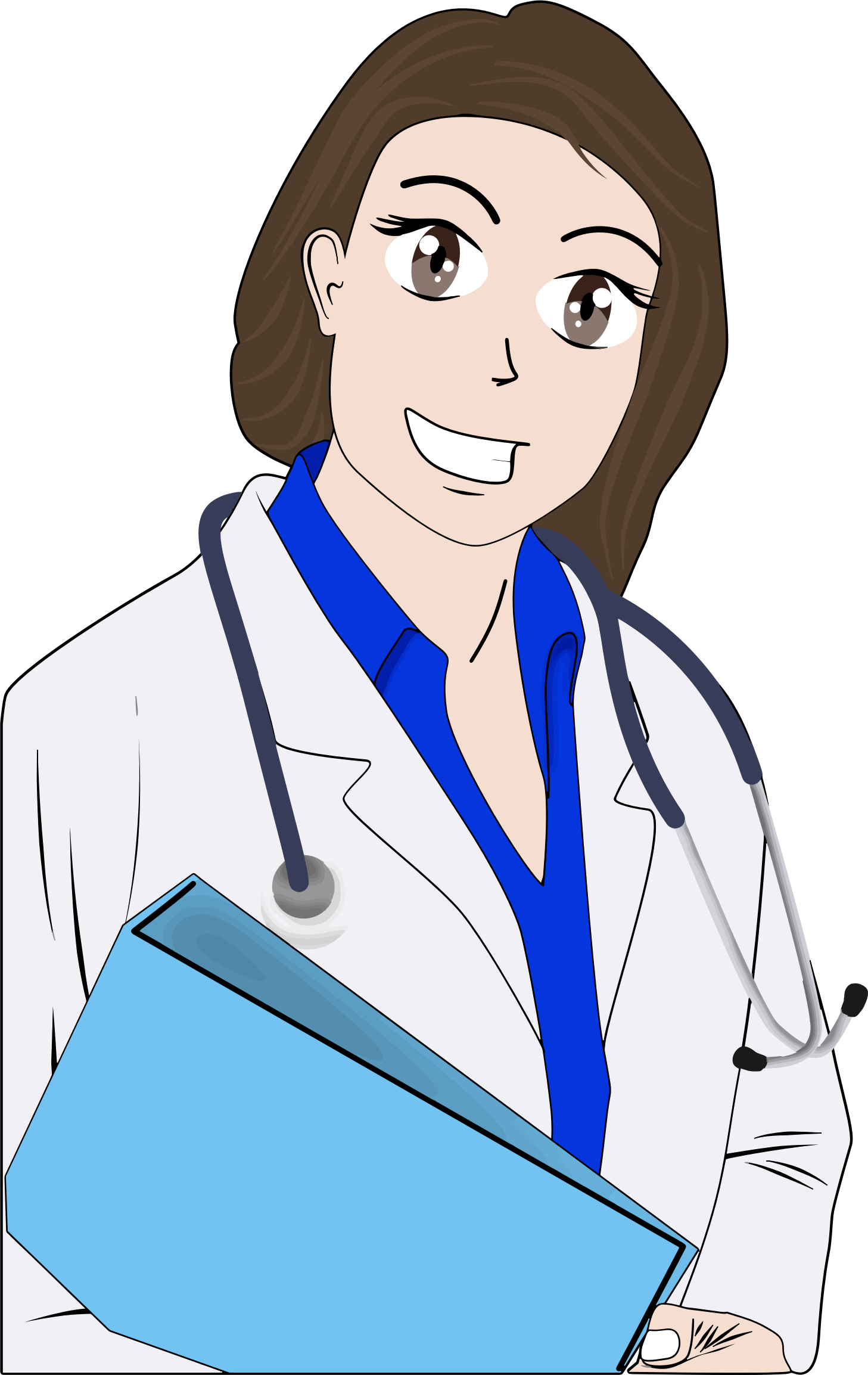 Doctor clipart woman doctor. Cartoon female big image