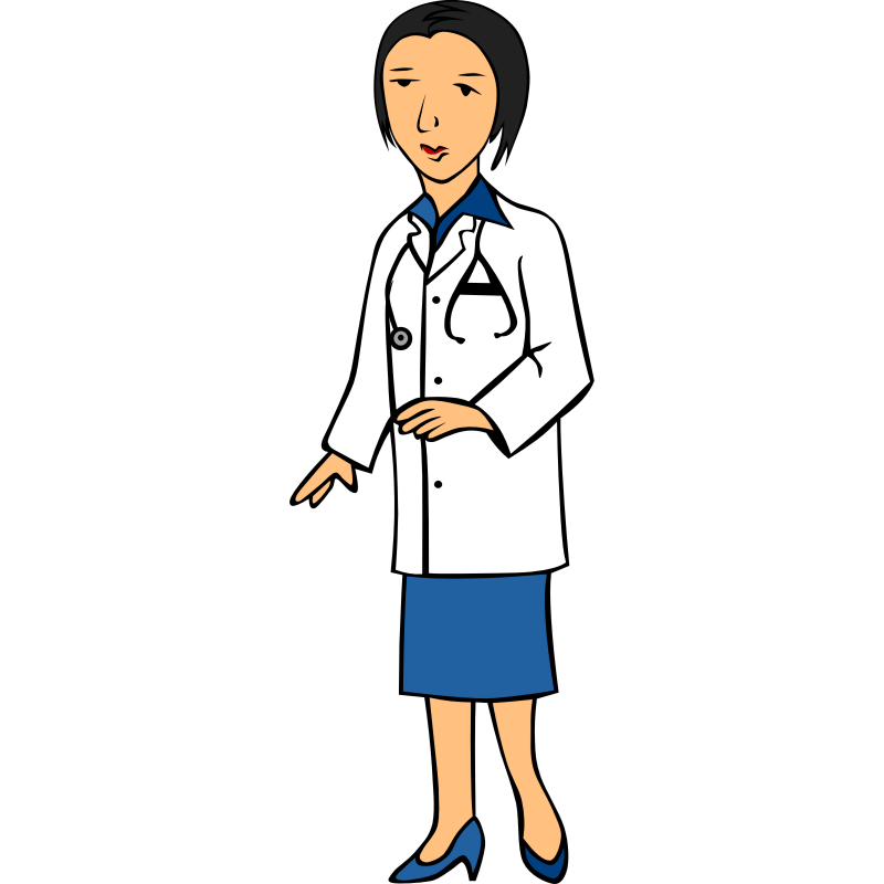 Doctor clipart woman doctor. Clip art library a