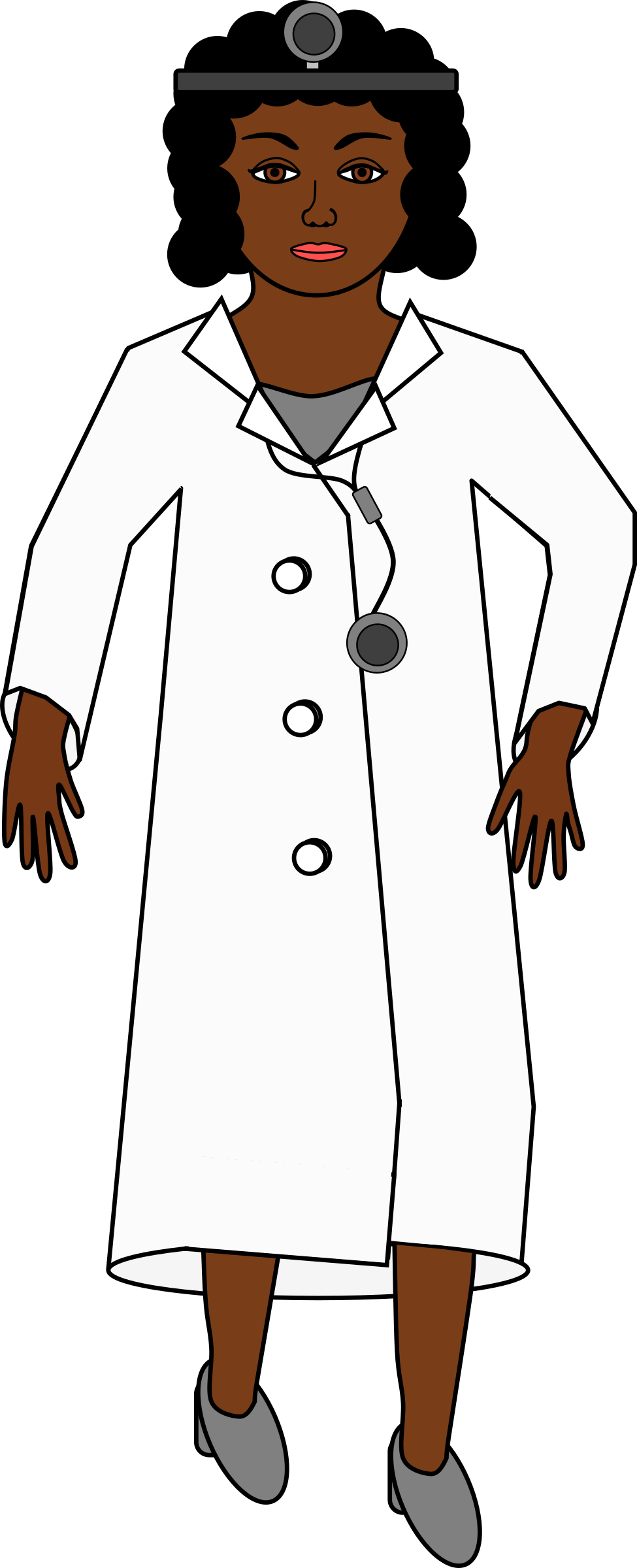 Doctor clipart woman doctor. Female clip art library