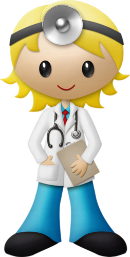 Doctor clipart woman doctor. Blond haired female pinterest