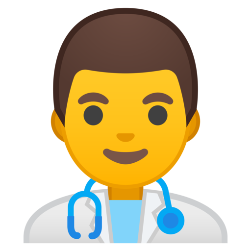 Doctor emoji png. Google android oreo