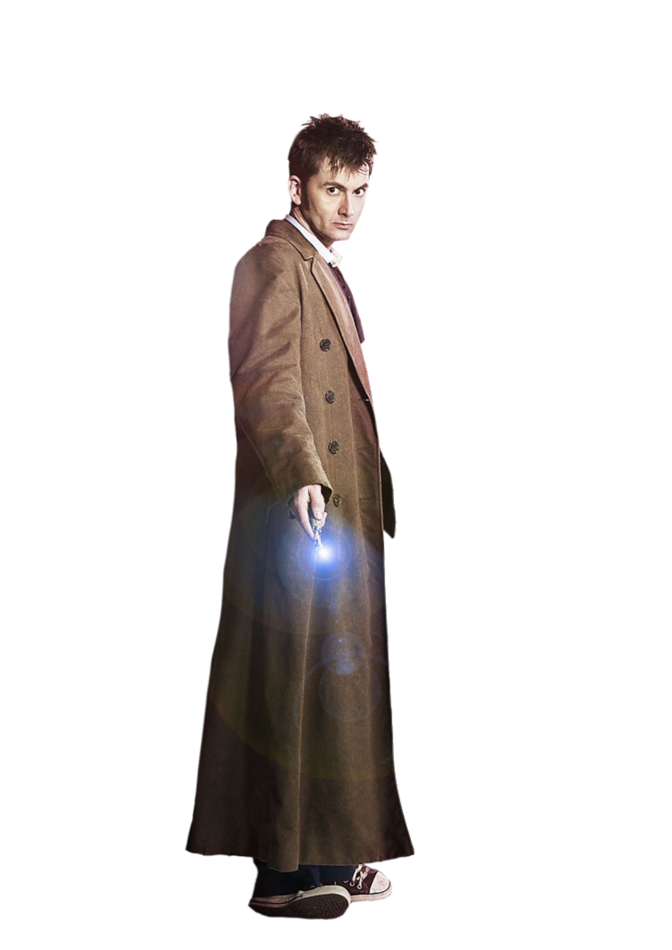 Doctor standing png. Tenth by sasslockholmes on