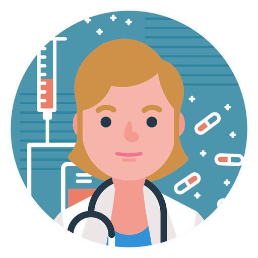 Doctor vector png. Character woman transparent svg