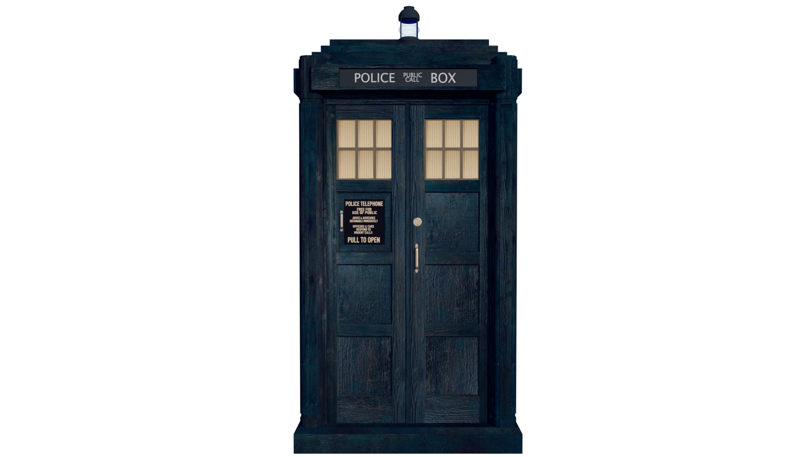 Doctor who tardis png. Th s render