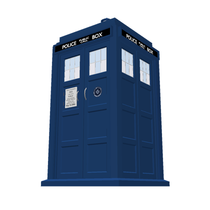 Doctor who tardis png. Th exterior roblox