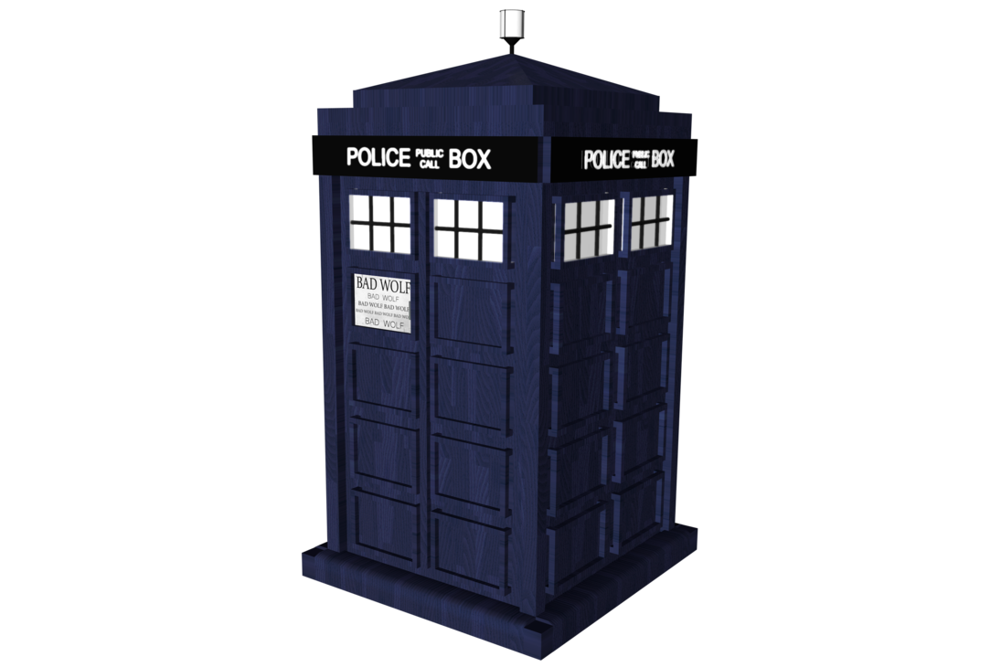 transparent tardis avatar