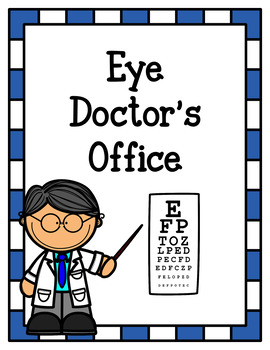 Doctors clipart eye doctor. S office dramatic play