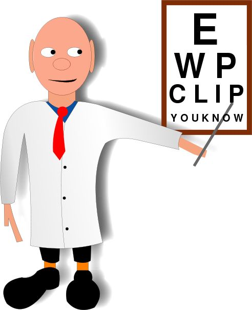 Doctors clipart eye doctor. Best images vision