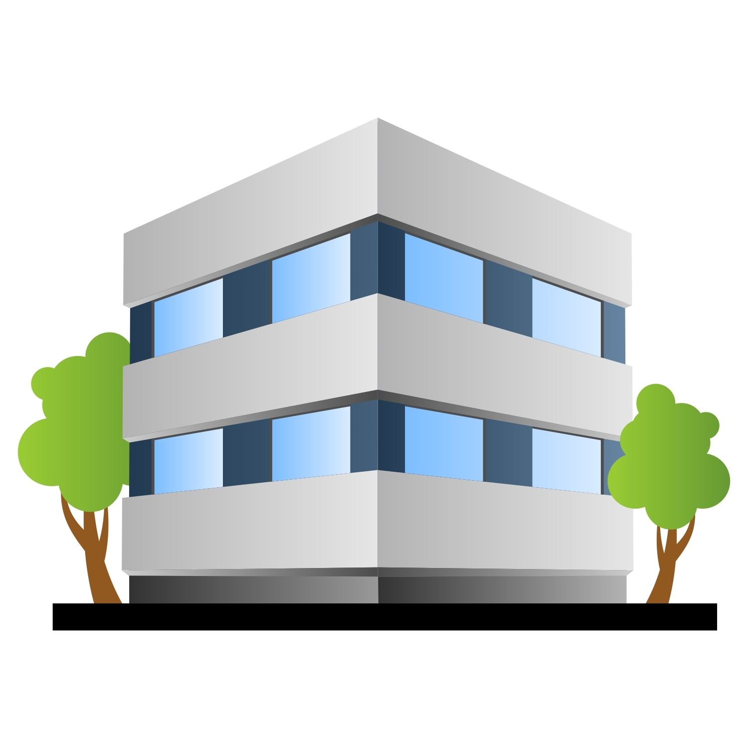 Doctors clipart office building. Small shopping kidf appealing